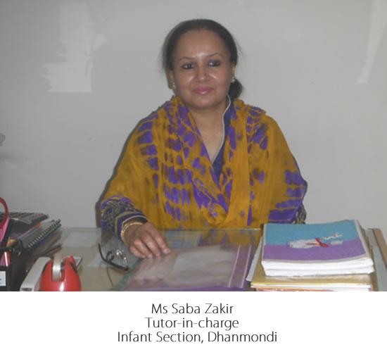 Ms Saba Zakir